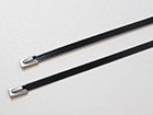 Stainless steel cable ties - Coated
